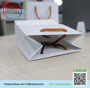 รับผลิตกล่องครีม ราคาถูก ผลงานถุงกระดาษ 04