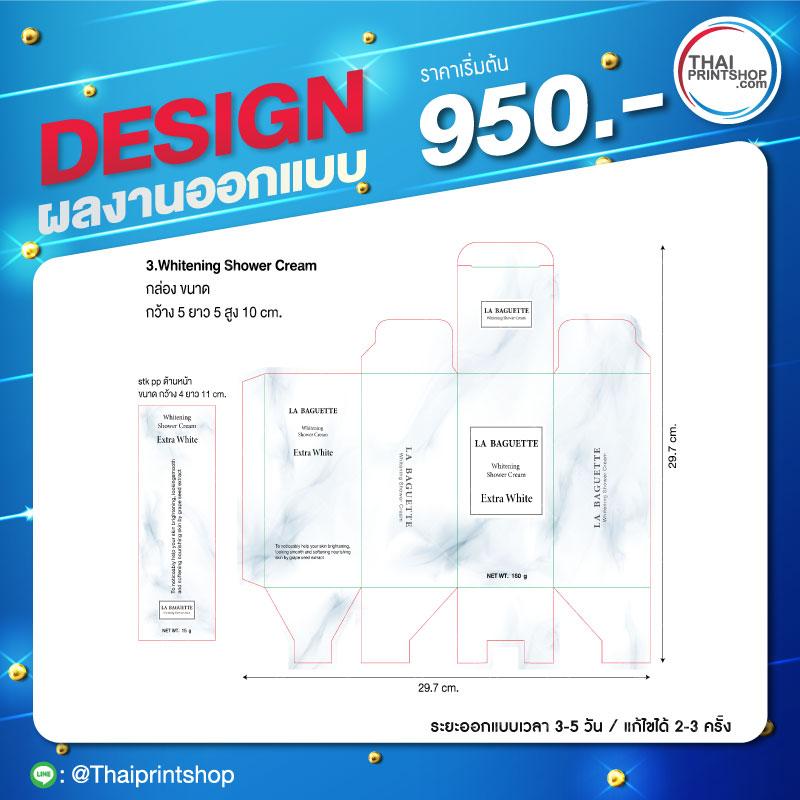 ออกแบบแพคเกจจิ้งรับออกแบบโลโก้สินค้า